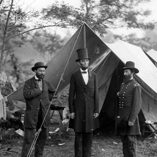 Abraham Lincoln, Allan Pinkerton and John Alexander McClernand