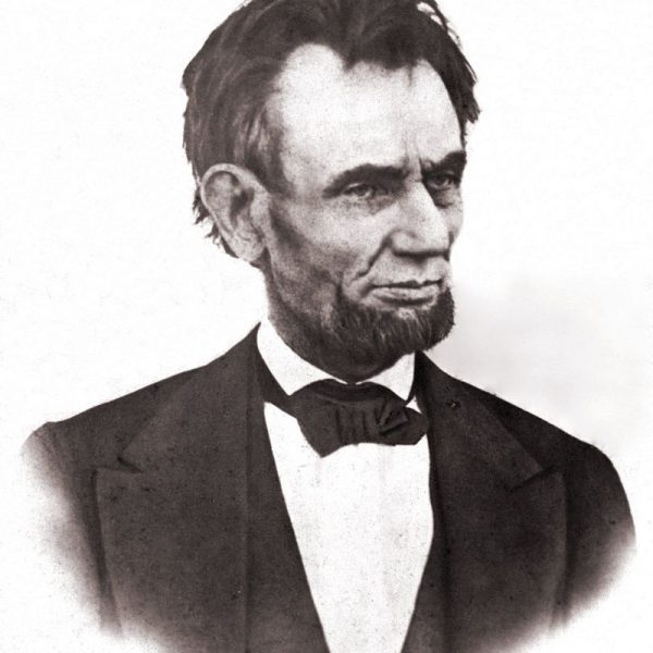 Abraham Lincoln 8 x 10 print of last known photograph of Lincoln