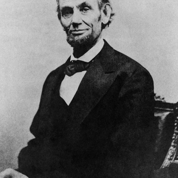 Abraham Lincoln print from his last formal sitting