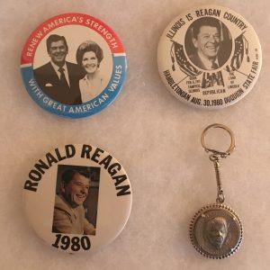 Reagan Button Set