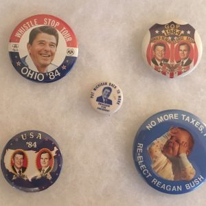 REAGAN Button Set