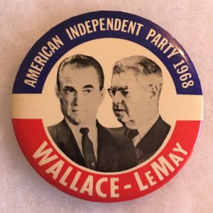 Americas Independent Party 1968 Wallace Lemay