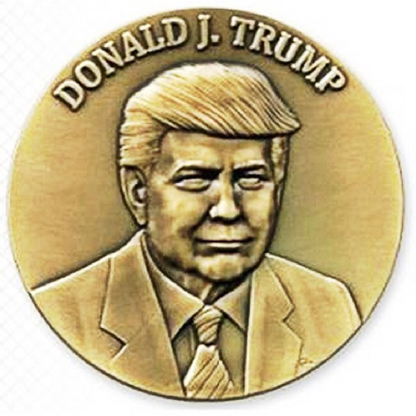 Donald J. Trump 2017 Official Inaugural Medal Ohio Republican Party 2017