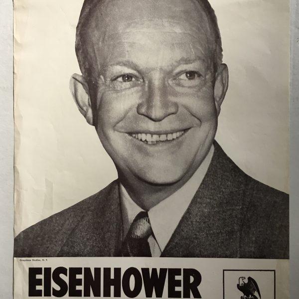 Republican Bumper Stickers Eisenhower For Preside...