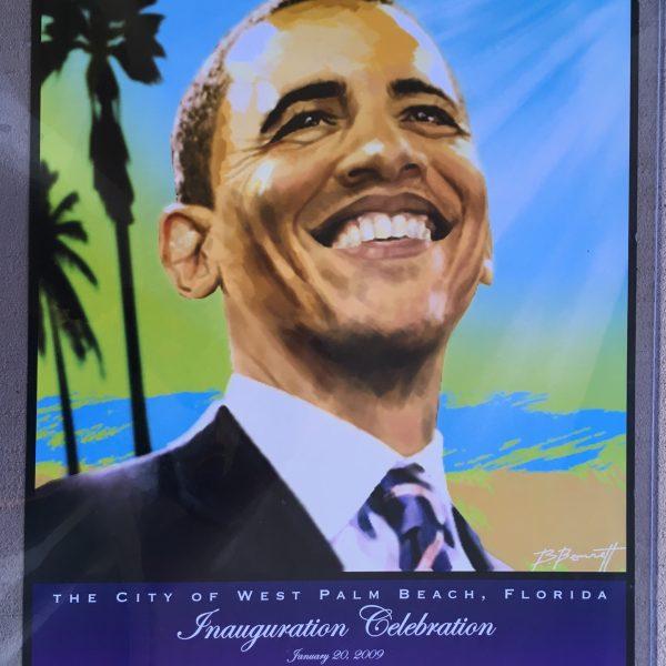 Barack Obama Campaign Poster.