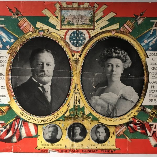 William H. Taft and Mrs. Hellen Taft Poster that measures 10 x 15 inches