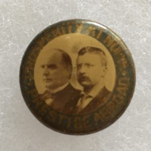 McKinley Campaign Button