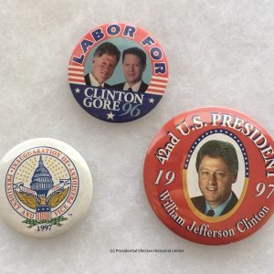 Bill Clinton Campaign Buttons