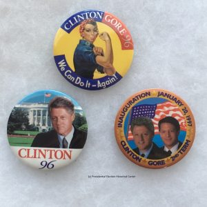 CLINTON304 Button Set