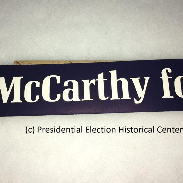 McCarthney for President Sticker