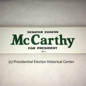 Senator Eugene McCarthy Sticker