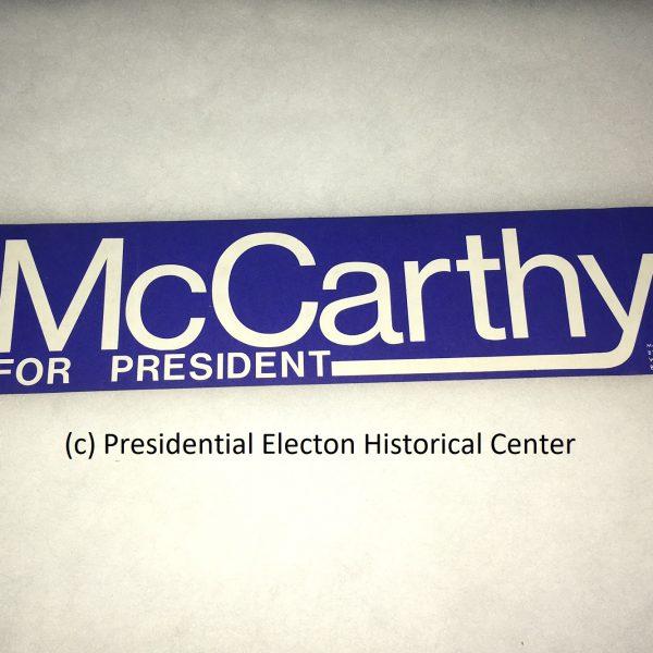 McCarthy Bumpr Sticker
