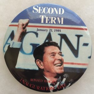 Second Term January 21, 1985 Ronald Reagan Inauguration Day
