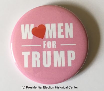 Women for Trump - Trump 2020 buttons