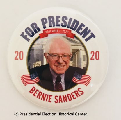 Bernie Sanders For President 2020 Campaign Button (SANDERS-704)
