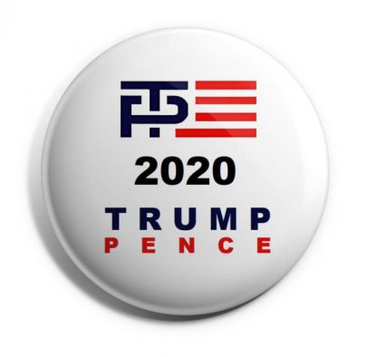 TP 2020 Trump-Pence Campaign Button