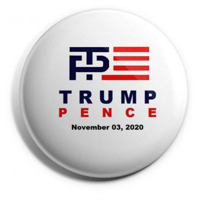 Trump-Pence November 3, 2020 Campaign Button
