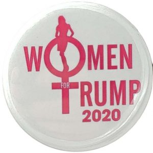 Woman for Donald Trump 2020 Campaign Button (TRUMP-704)