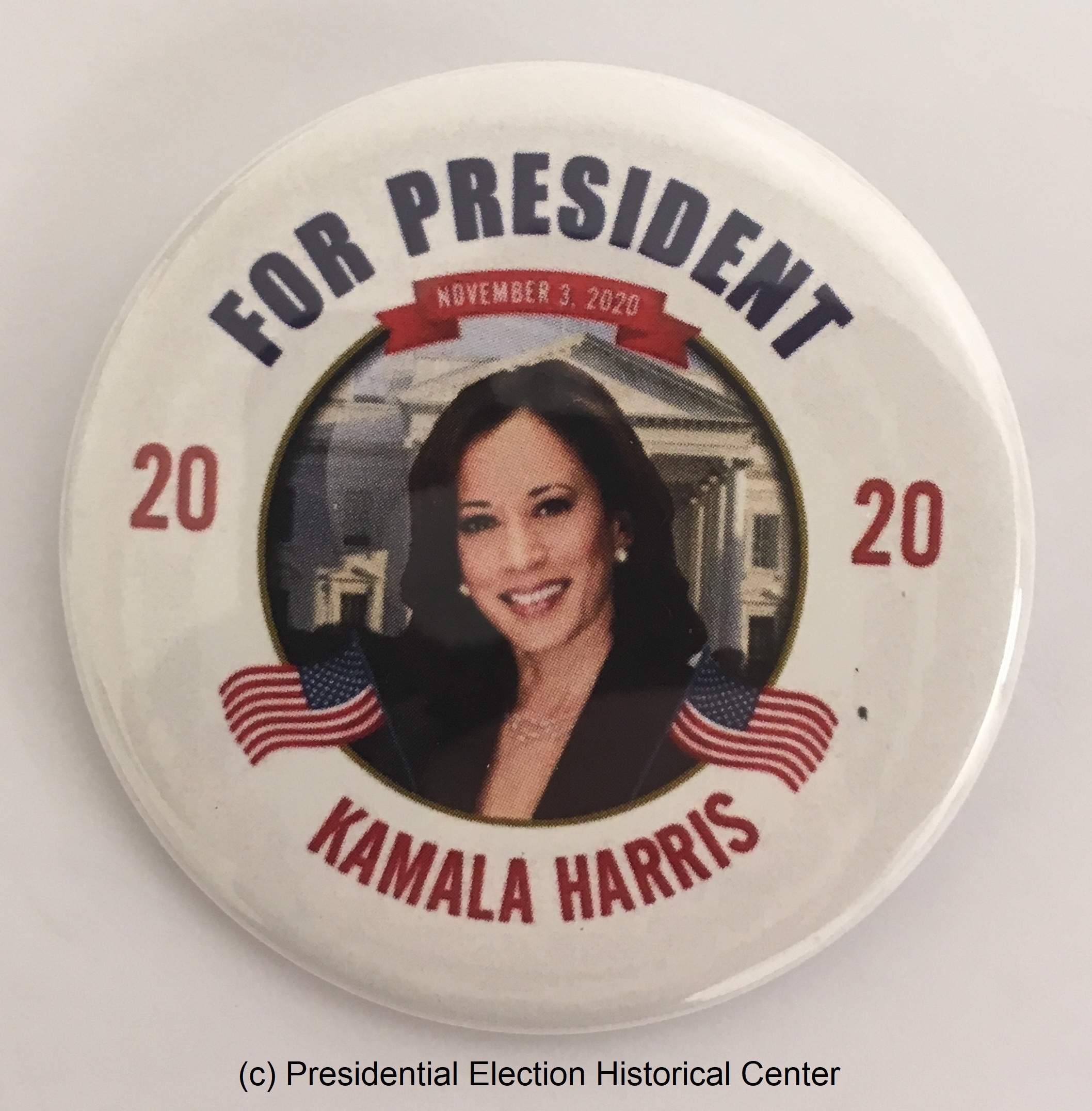 2020 Kamala Harris for PRESIDENT CAMPAIGN BUTTON PIN PINBACK