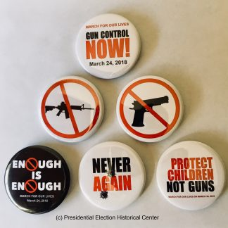 March for Our Lives Buttons - #NeverAgain Movement