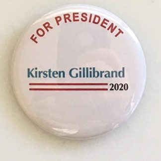 Kirsten Gillibrand for President 2020 Campaign Button