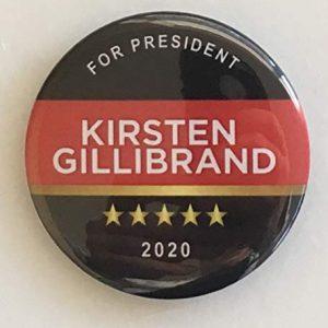 Kirsten Gillibrand for President 2020 Campaign Button