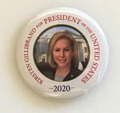 Kirsten Gillibrand for President 2020 Campaign Button (GILLIBRAND-705)