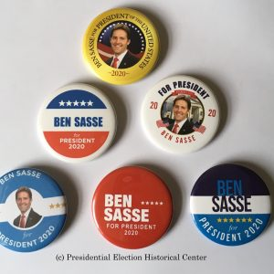 Ben Sasse 2020 Campaign Buttons