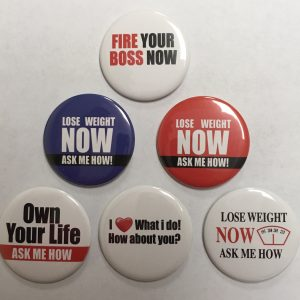Herbalife Type and MLN Buttons