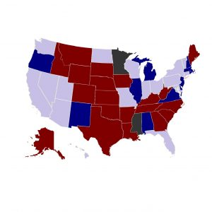 2018 Midterm Elections by State
