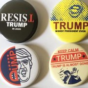 Anti Trump Buttons