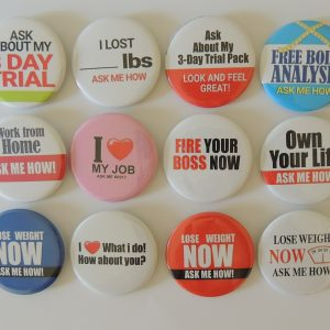Herbalife Buttons