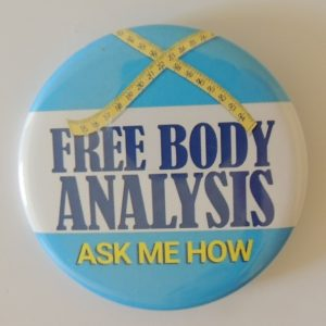 Free Body Analysis Button for building your business.