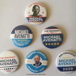 Michael Avenatti for President Campaign Buttons (AVENATTI-701)