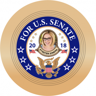 Democrat Kyrsten Sinema - Arizona - U.S. Senate