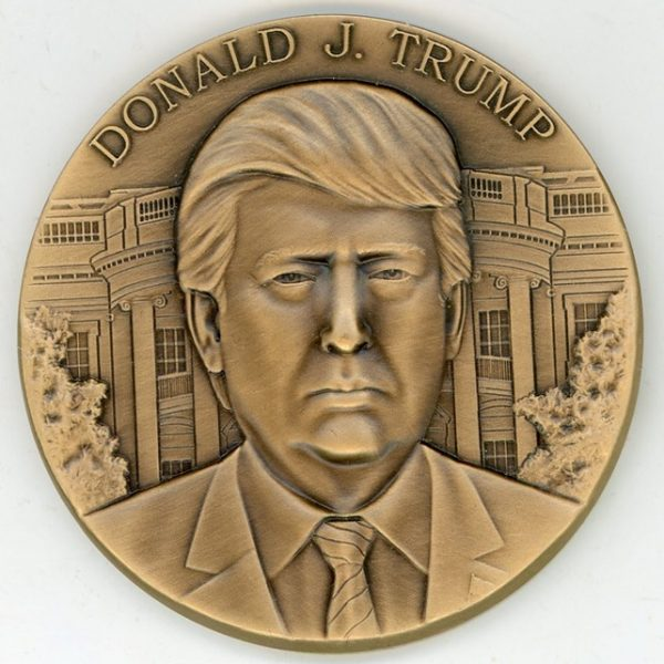 Rare Donald Trump RNC Inaugural Luncheon Medal