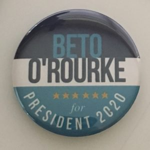 BETO O'ROUKE 2020 Button