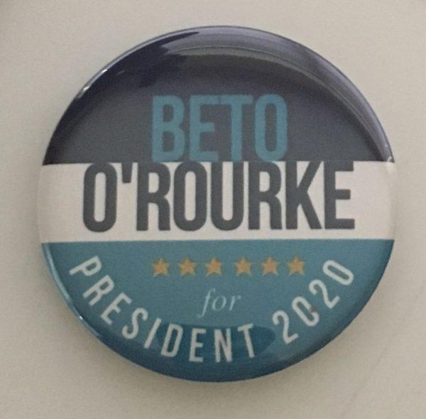 BETO O'ROUKE 2020 Button
