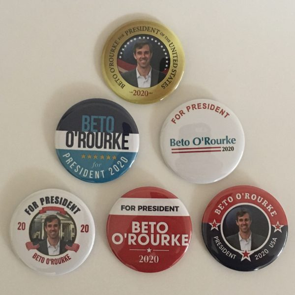 Beto O'Rourke Campaign Buttons Set of 6 (OROURKE-ALL)