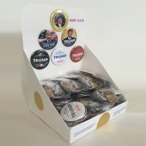 Donald Trump Whole Button Display (RETAIL-TRUMP-701)