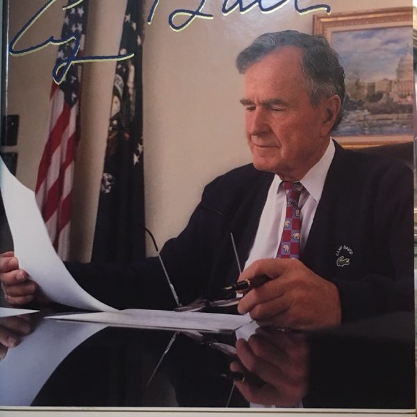 George H.W. Bush Signature -Book - All the Best, George Bush: My Life in Letters (701)