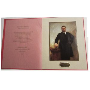 Nixon White House Christmas Card Gift Print, 1972