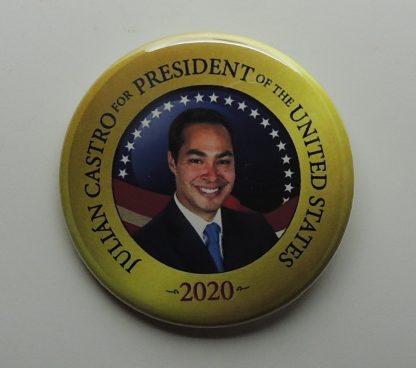 Julian Castro 2020 Campaign Buttons