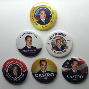 Julian Castro Campaign Button Set of 6