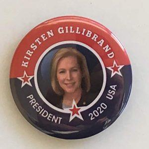 Kirsten Gillibrand for President 2020 Campaign Button (GILLIBRAND-706)