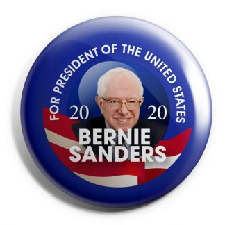 Blue Bernie Sanders For President of the United States 2020 Campaign Button (SANDERS-708)