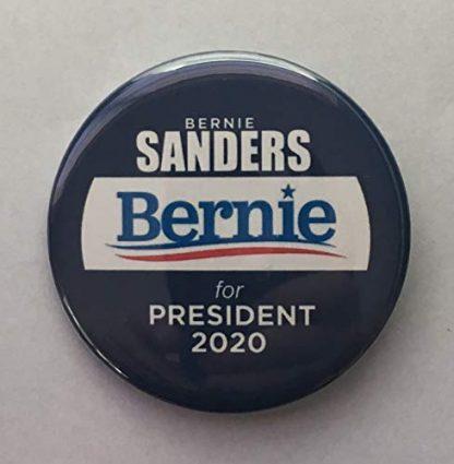 Bernie blue and white
