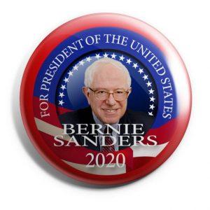 Bernie Sanders For President 2020 Campaign Button (SANDERS-702)