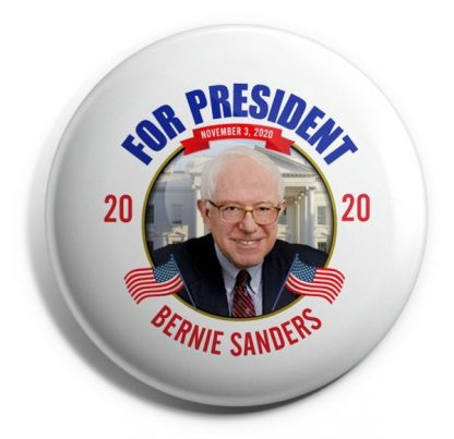 Bernie Sanders For President 2020 Campaign Button (SANDERS-704)