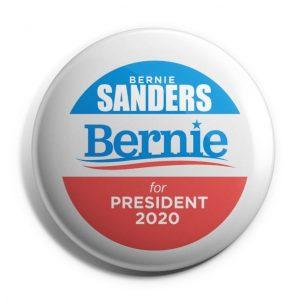 Bernie Sanders For President 2020 Campaign Button (SANDERS-703)